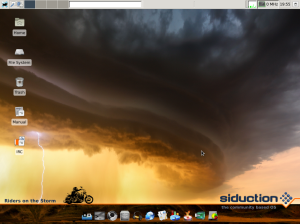 siduction, Xfce edition