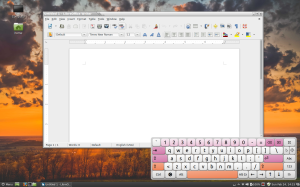 the onscreen keyboard for GNOME